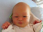 Tobiáš Fujdl, Hranice, narozen 4. srpna 2016  ve Valašském Meziříčí, míra 49 cm, váha 3620 g