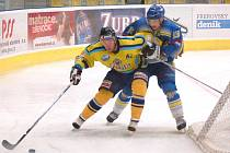 Přerovští hokejisté s Orlovou