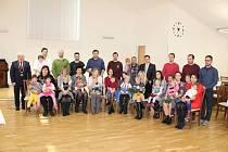 Slavnostní vítání nových občánků do svazku obce Býškovice.