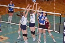 Přerovský B–tým ve finálové skupině potřetí vyhrál. Tentokrát v domácím prostředí porazil Prahu – Nusle.