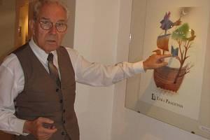 Vernisáž uvede zakladatel Lyry Pragensis Milan Friedl.