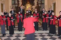 Velký potlesk publika sklidil koncert olomouckého smíšeného pěveckého sboru Collegium vocale.