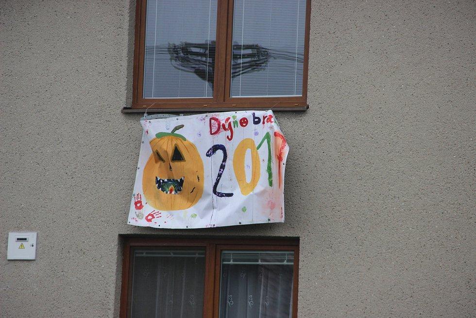V Horním Újezdu na Hranicku se konal devátý ročník Dýňobraní.