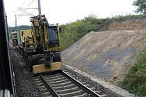 Vlaky budou po obou kolejích jezdit od začátku září.