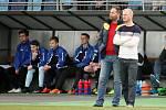 Trenér Všechovic Zbyněk Vinklar (stojící vpravo)