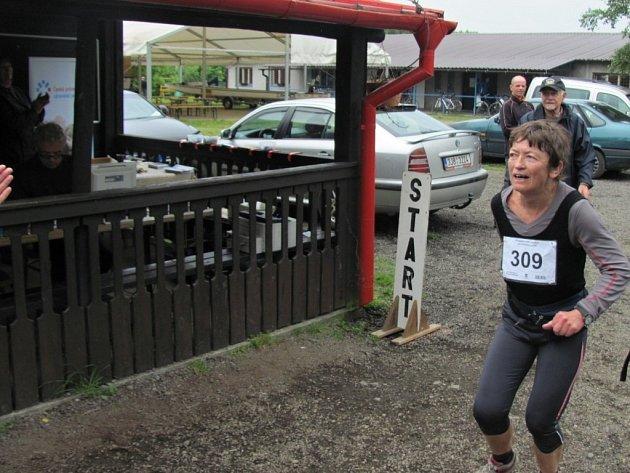 Hranická atletka Tvrdá doběhla ve své kategorii druhá