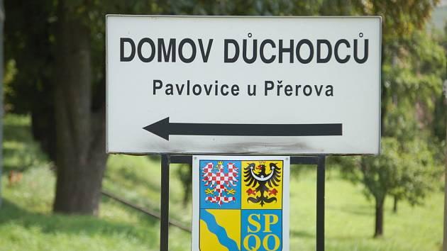 Domov pro seniory v Pavlovicích u Přerova.