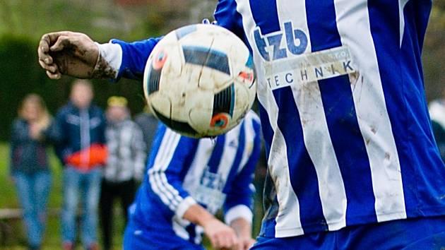Fotbalisté Hranice. Ilustrační foto