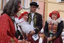 Přerované mohli v sobotu zhlédnout rekonstrukci pravé hanácké svatby.