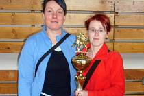 Trenérské duo s pohárem za druhé místo