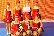 Skupina juniorek si domů přivezla medaili za třetí místo
