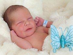 Filip Mlčák, Paršovice, narozen dne 14. února 2015 v Přerově, míra: 49 cm, váha: 3190 g