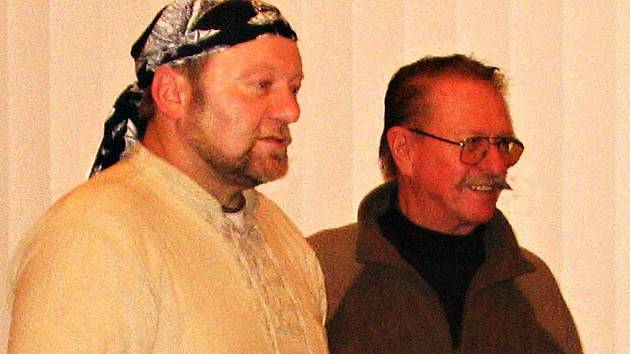 Josef Urban (vlevo) a Jaroslav Jakubec.