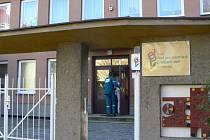 Budova Denního pobytu v Přerově.