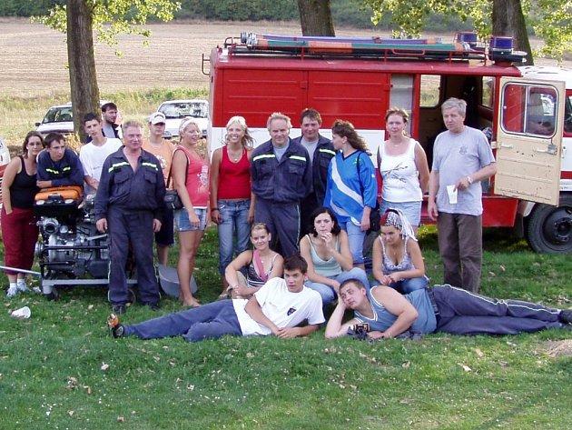 Partutovičtí hasiči na závodech na Slovensku.