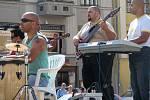 Na hranickém náměstí vystoupila romská kapela z Přerova Imperio.