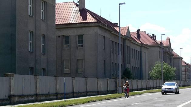 Bývalé kasárny Jaslo