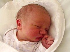 Michael Kubeša, Hranice, narozen dne 3. února 2014 v Přerově, míra: 50 cm, váha: 3816 g