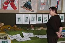 Výstava dětských prací v Galerii M+M s doprovodným programem
