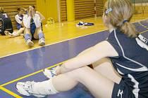 Prostějovské volejbalistky už spolu trénují.