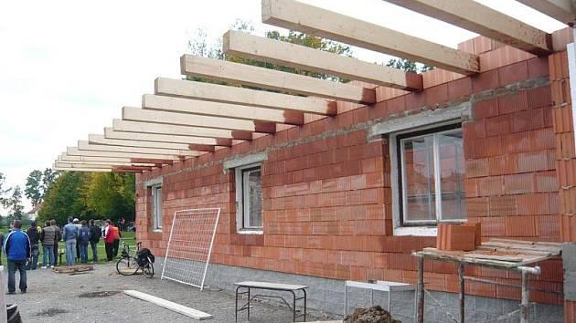 Rekonstrukce budovy Sokolovny v Bělotíně