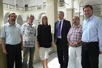 Slovenská delegace vůbec poprvé navštívila Hranice, aby prohloubila vzájemnou spolupráci.