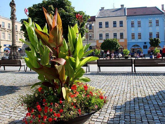 Masarykovo náměstí vHranicích. Ilustrační foto