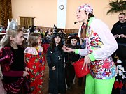 Smích a dobrá nálada vládly v sobotu na maškarním karnevalu v hranické Galerii M+M.