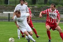 Hraničtí fotbalisté urvali v domácím prostředí s juniorkou Baníku Ostrava jediný bod.