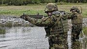 Vojáci zHranic zorganizovali mezinárodní střeleckou soutěž O pohár Moravské brigády.