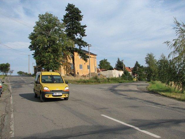 Křižovatka  při vjezdu do Konice je hodně nepřehledná, ale zatím bez vážných nehod.