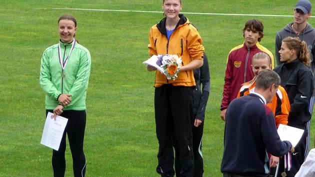 Helena Tomková, už jistá účastnice dorosteneckého mistrovství světa.