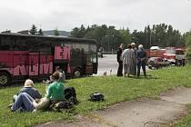 Polští turisté čekali na odstranění závady.
