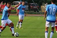Fotbalisté SK Hranice. Ilustrační foto