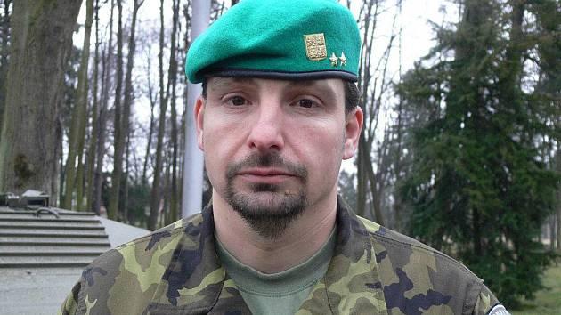 Nový velitel 71. mechanizovaného praporu v Hranicích Jan Zezula