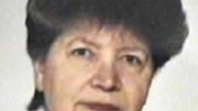 Pohřešovaná Ludmila Pavlíčková.