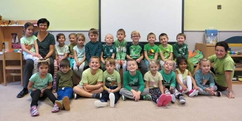 Barevný týden ve školní jídelně ZŠ a MŠ Struhlovsko Hranice.