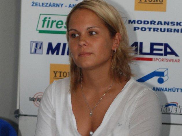 Fanoušci VK Prostějov se mohou v případě Michaely Fraňkové těšit nejen na její herní dovednosti, ale také na její půvab.