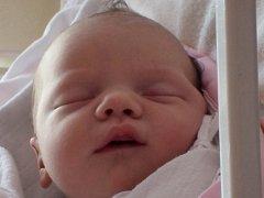 Adriana Hašová, Zámrsky, narozena 12. června 2012 ve Valašském Meziříčí, míra 50 cm,  váha 3 600 g