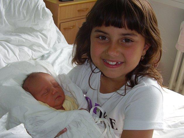 RomanOračko, Přerov, narozen 1. 5. 2009 v Přerově, míra 50 cm, váha 2 900 g