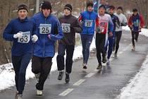 Na třicátém ročníku Silvestrovském běhu v Přerově byla druhá nejvyšší účast v historii.