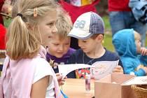 Předškoláci přivítali podzim společně s žáky i učiteli Základní školy Struhlovsko