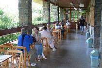 První místo v regionu, kde byla Turistická známka k dostání, byly Zbrašovské aragonitové jeskyně