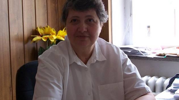 Psychiatrička Helena Kučerová z Hranic.