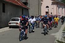 Na trať Moped cupu se vydalo téměř pět desítek závodníků.