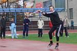 Jedenáctka převážně mladých atletů se vydala do Olomouce na Krajské přebory ve vícebojích všech kategorií.