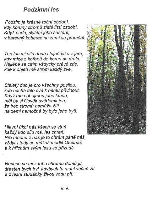 Autor básně Václav Váňa