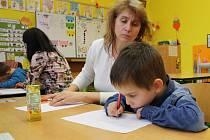 Zápis do první třídy v Hranicích