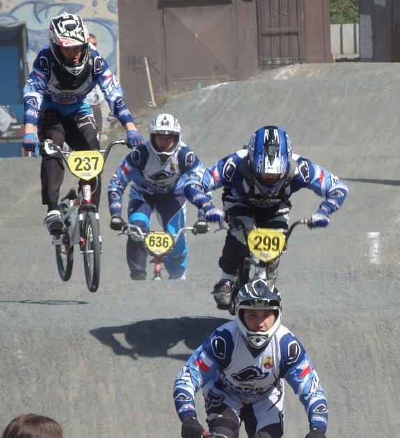 Hraničtí jezdci BMX zahájili sezonu v Třinci.