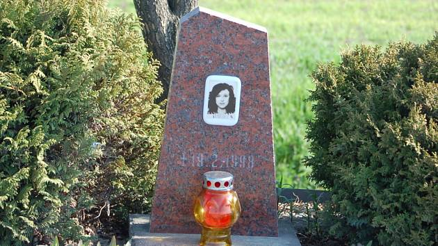 Pomník na hlavním tahu z Přerova do Prosenic.